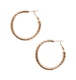 Eb & Ive Liberty Hoop Earring