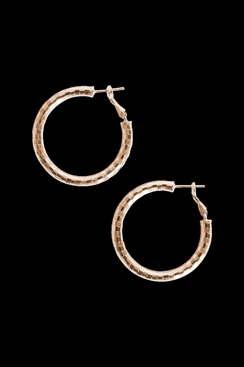 Eb & Ive Liberty Hoop Earring