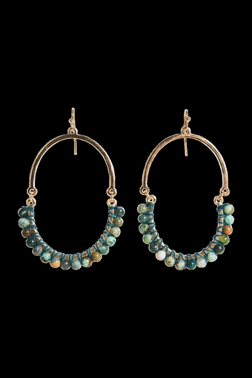 Eb & Ive Eden Stone Earring