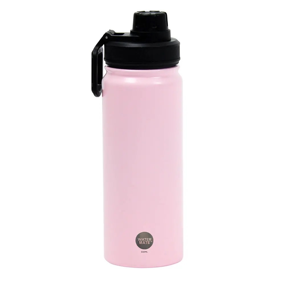 Watermate Stainless Steel Light Pink 550ML