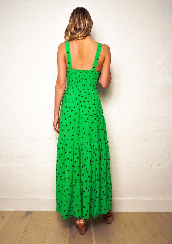 The Others The Shirred Maxi Dress