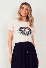 The Others The Relaxed Tee Leopard Lips