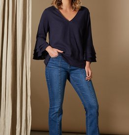 Isle Of Mine Solace Tulip Top Indigo
