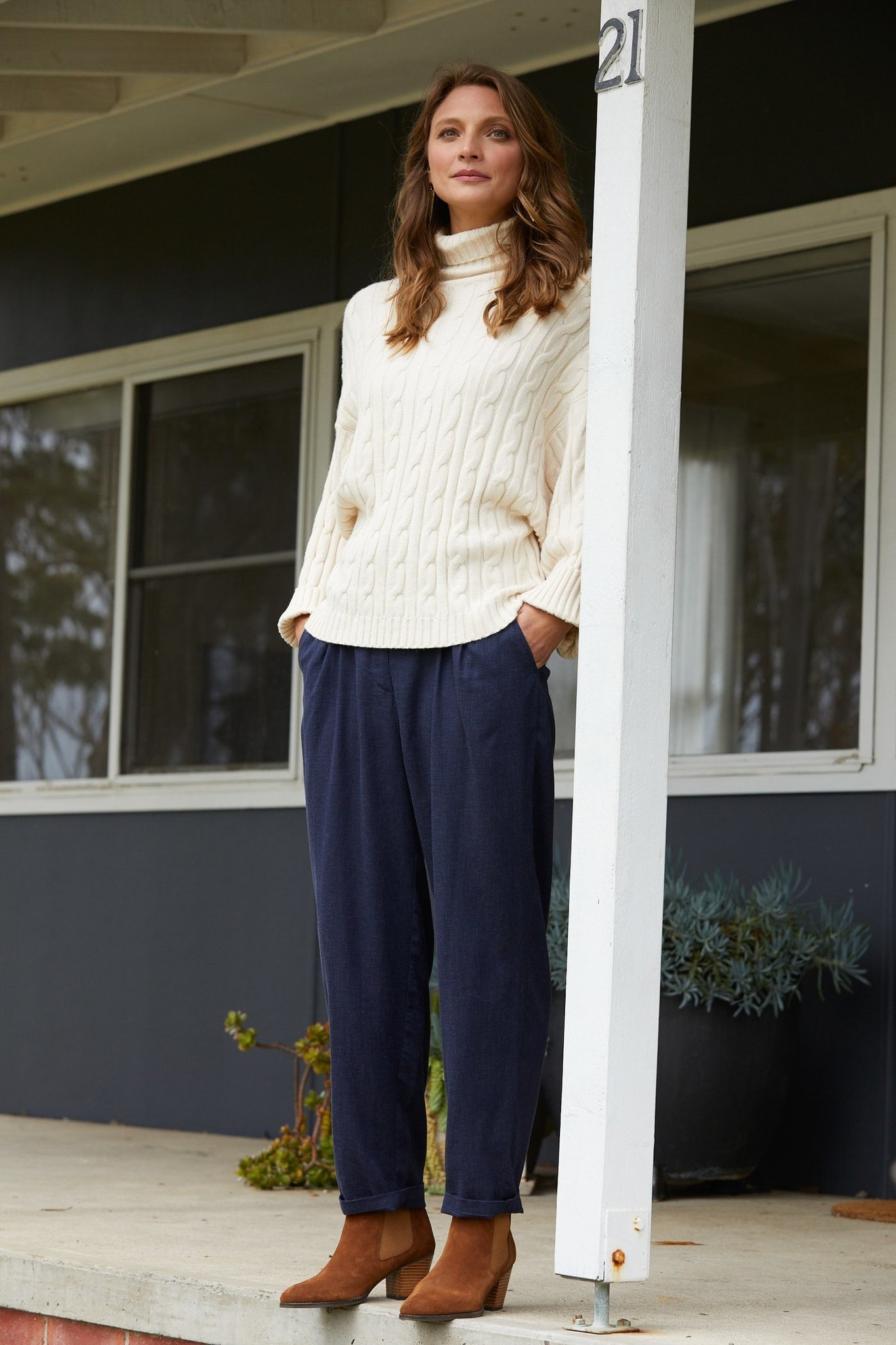 Isle Of Mine Clarity Cable Knit