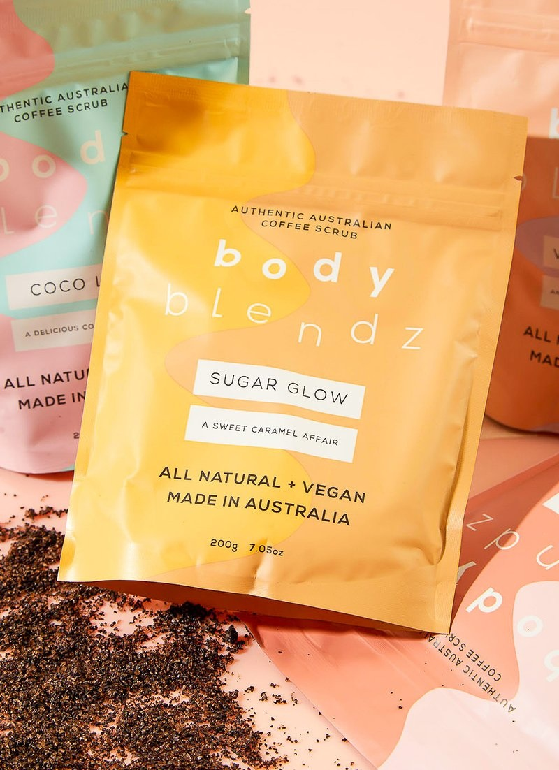 Body Blendz Sugar Glow Coffee Scrub