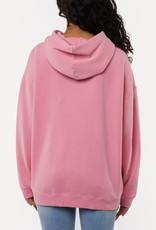 All About Eve Delux Oversized Hoody Rose