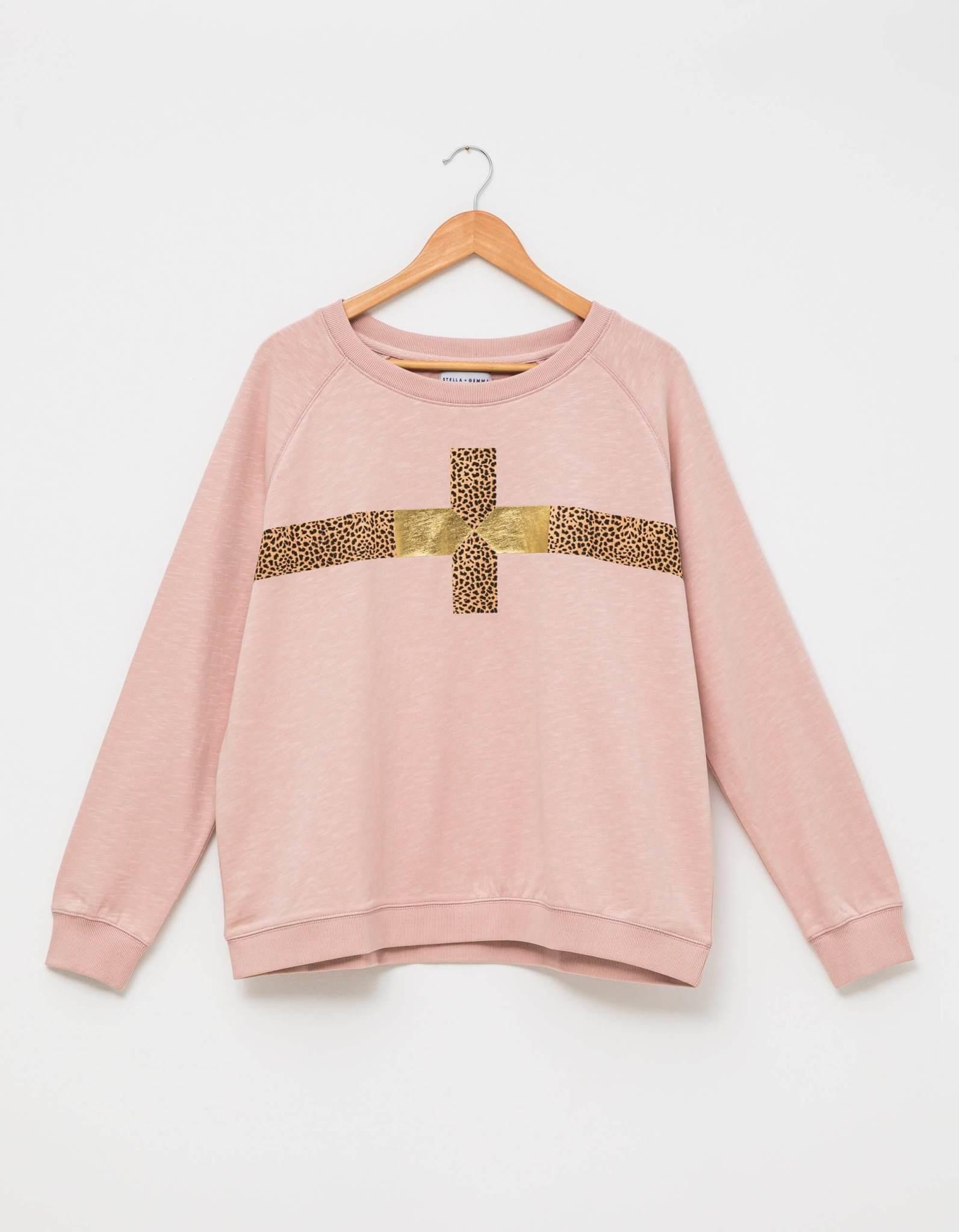 Stella & Gemma Rose Cheetah Sweater