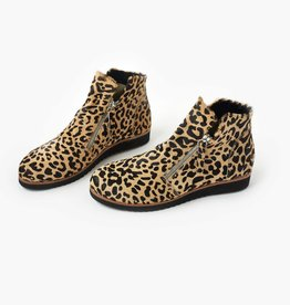 Walnut Morgan Boot Leopard