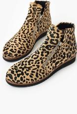 Walnut Morgan Boot Leopard