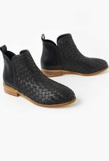Walnut Douglas Weave Leather Boot