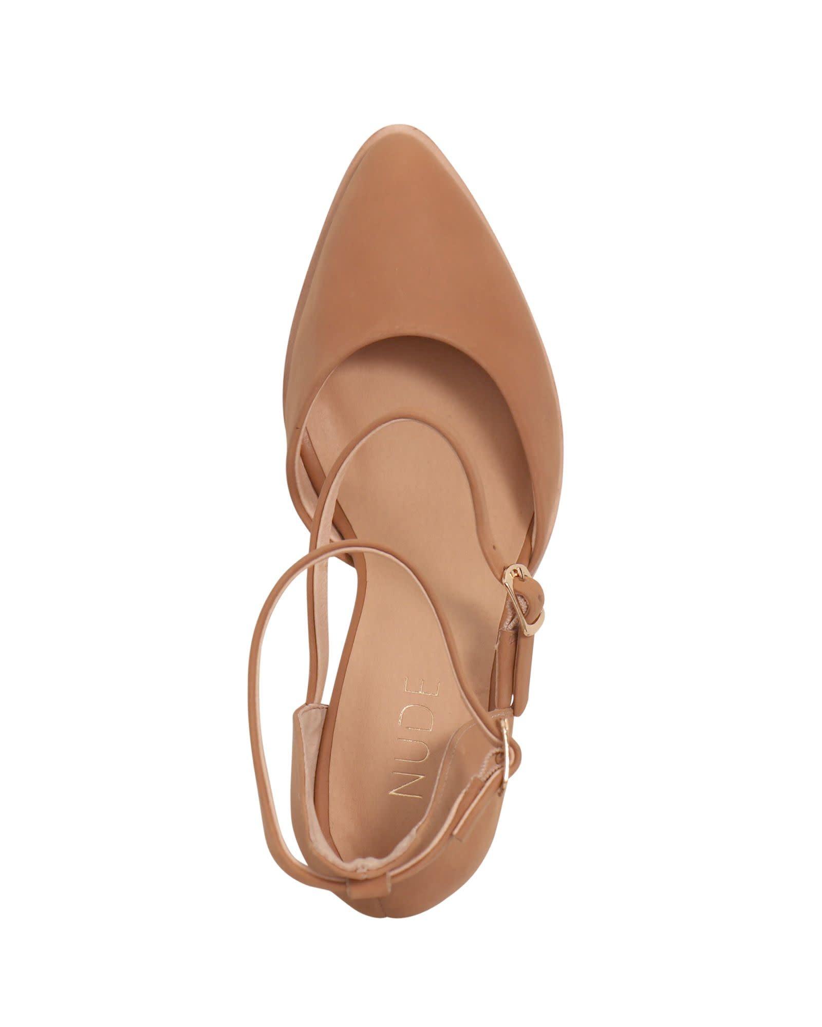 Nude Shoes Fleur Heel