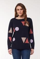 Elm Rosa Knit Navy