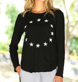3rd Story Mini Star Tee Black
