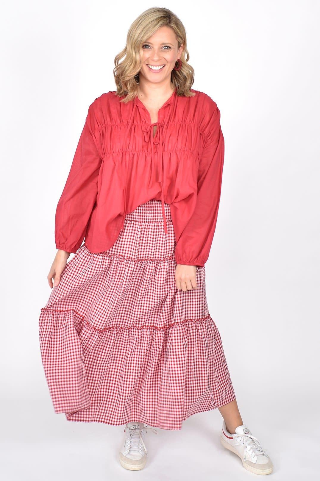 Amber Tiered Ruffle Skirt