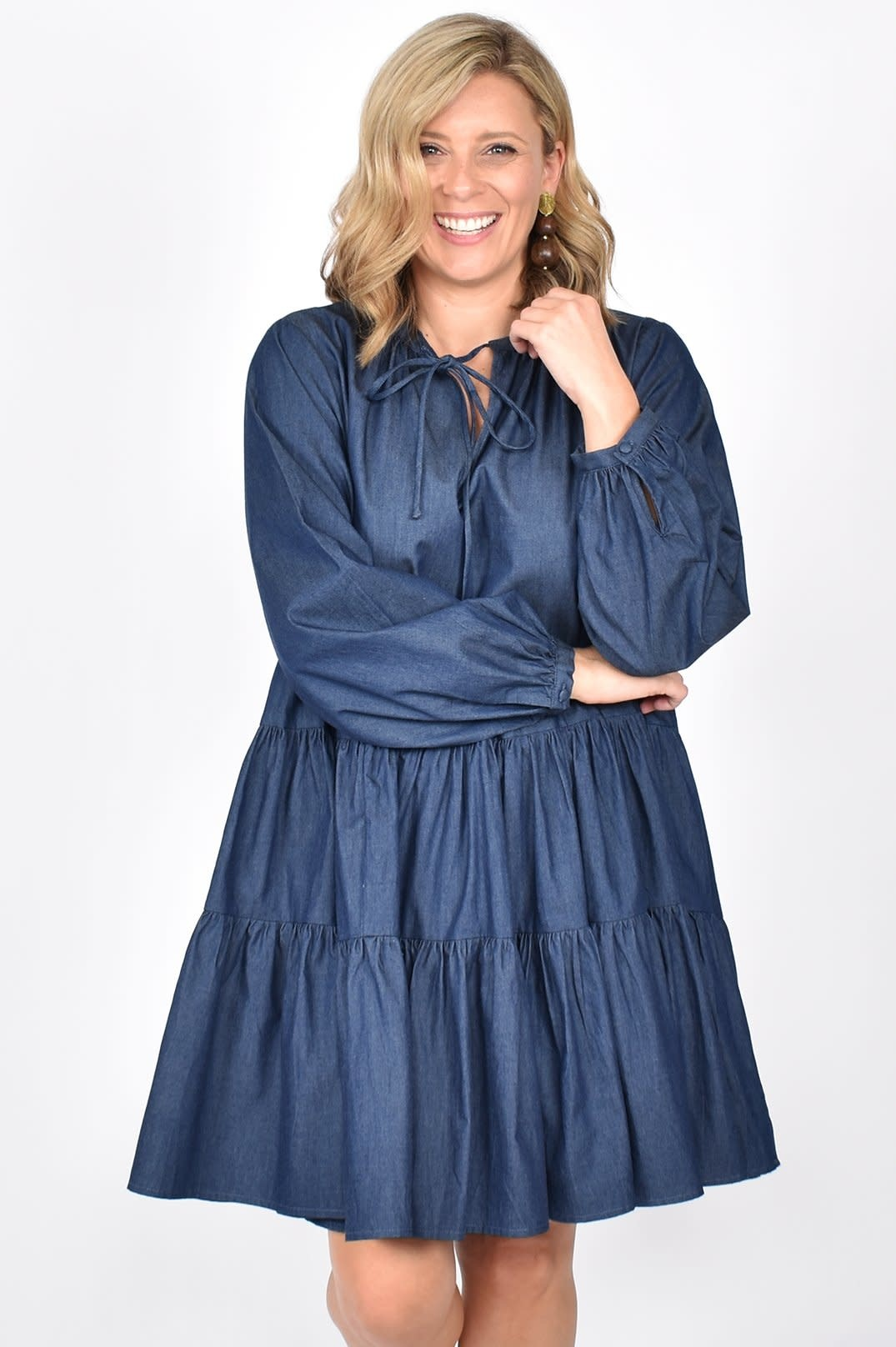 Angie Tiered Dress
