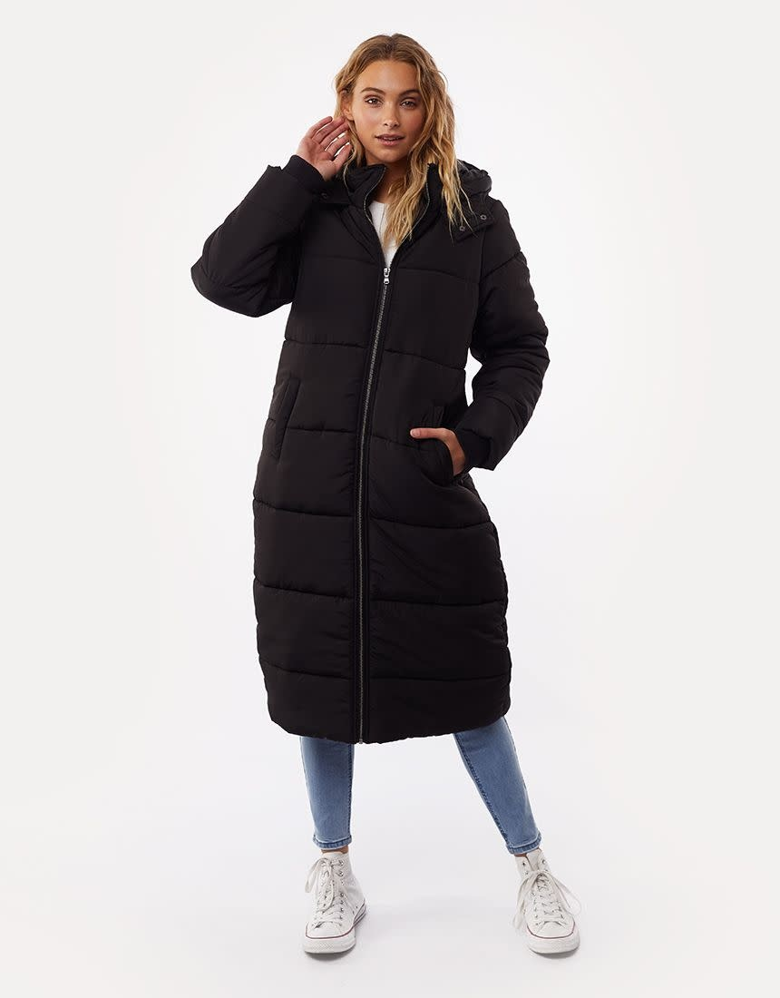 All About Eve Long Line Puffer
