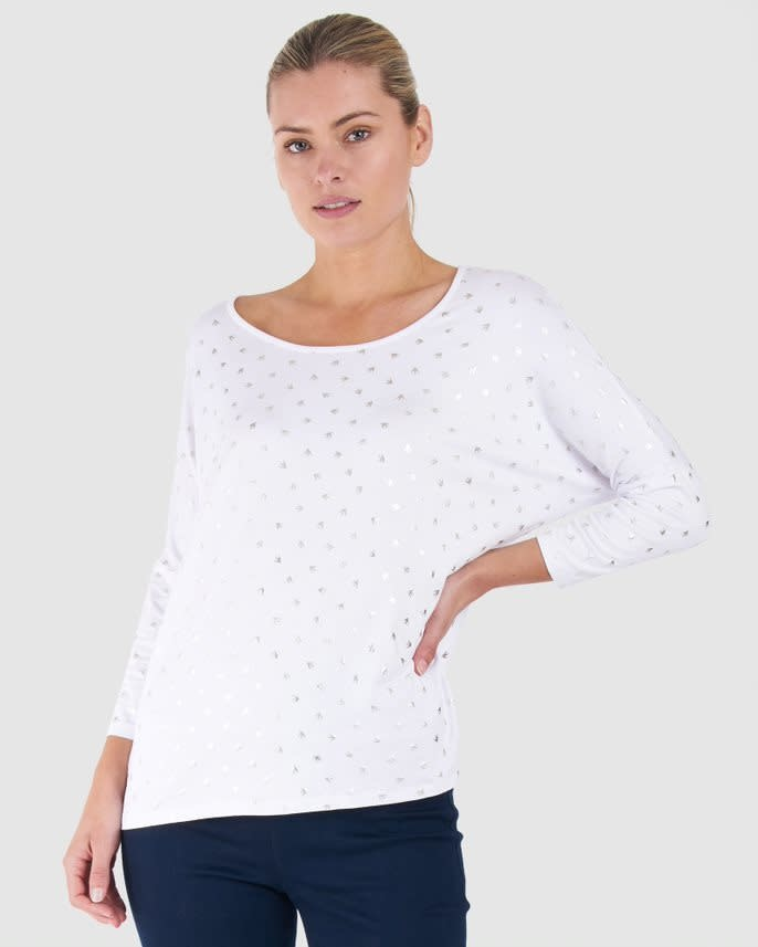 Betty Basics Milan 3/4 Sleeve Top