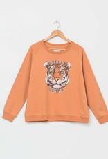Stella & Gemma Amber Logo Tiger Sweater