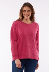 Elm Becky Quilted Crew
