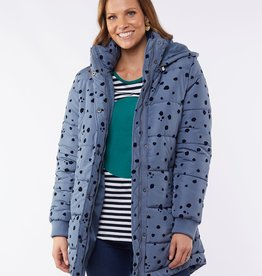 Elm Spotted Cheetah Puffer Jacket