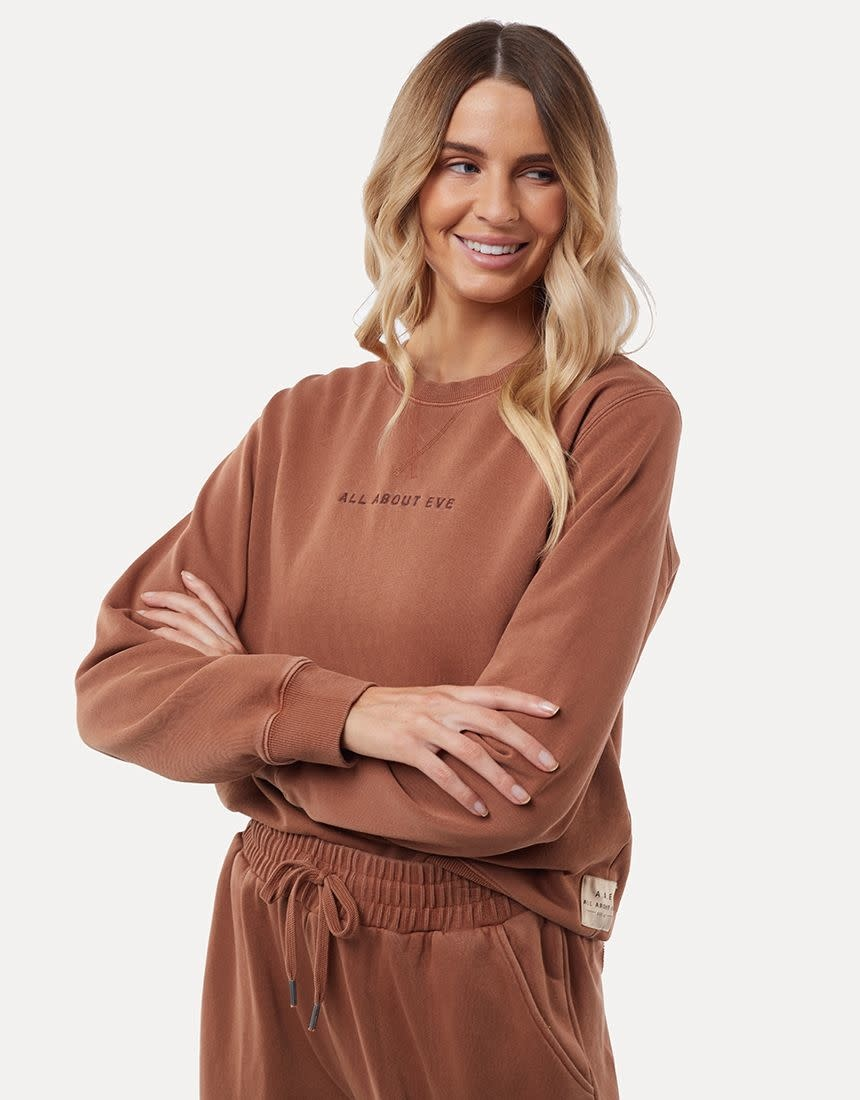 All About Eve Washed Crew Tan
