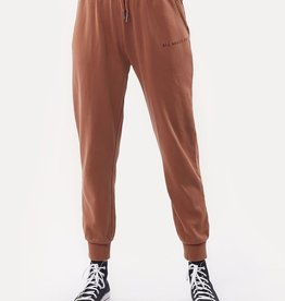 All About Eve Washed Track Pant Tan