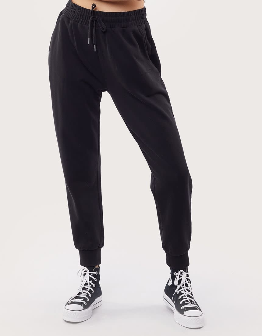 All About Eve AAE Washed Track Pant  washed Black
