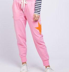 Elm Superstar Trackpant Pink (N)
