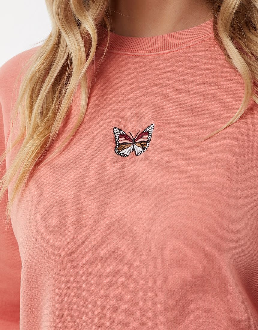 All About Eve Vintage  Butterfly Crew K)
