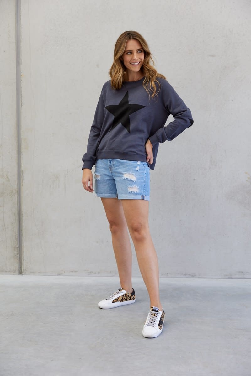 Jovie The Label Freedom Sweater Charcoal (N)