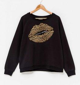 Stella & Gemma Leopard Lips Black (N)