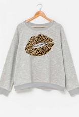 Stella & Gemma Leopard Lips Grey (N)