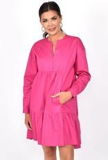 Chelsea Tiered Dress Pink (N)