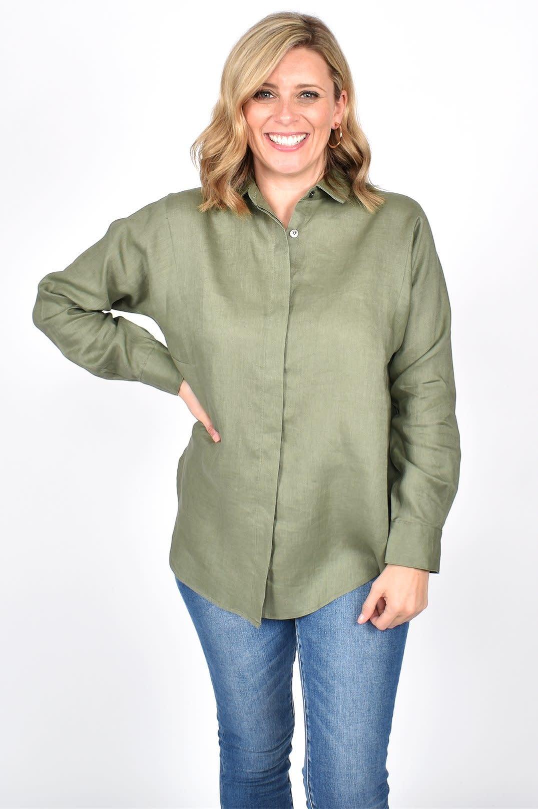 Charlie Linen Shirt (N)
