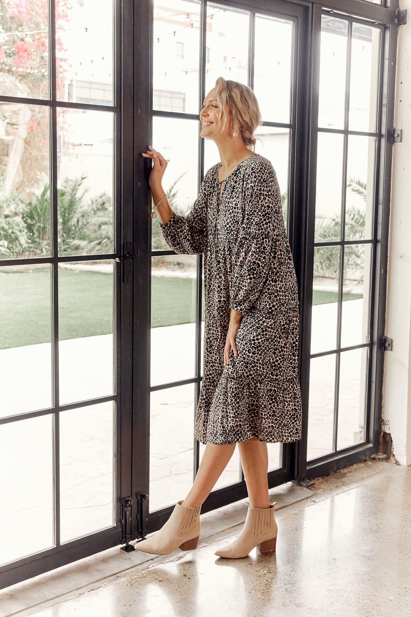 Zoe Tiered Maxi Dress (N)