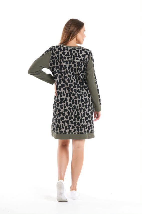 Betty Basics Delta Sweat Dress Splosh (O)