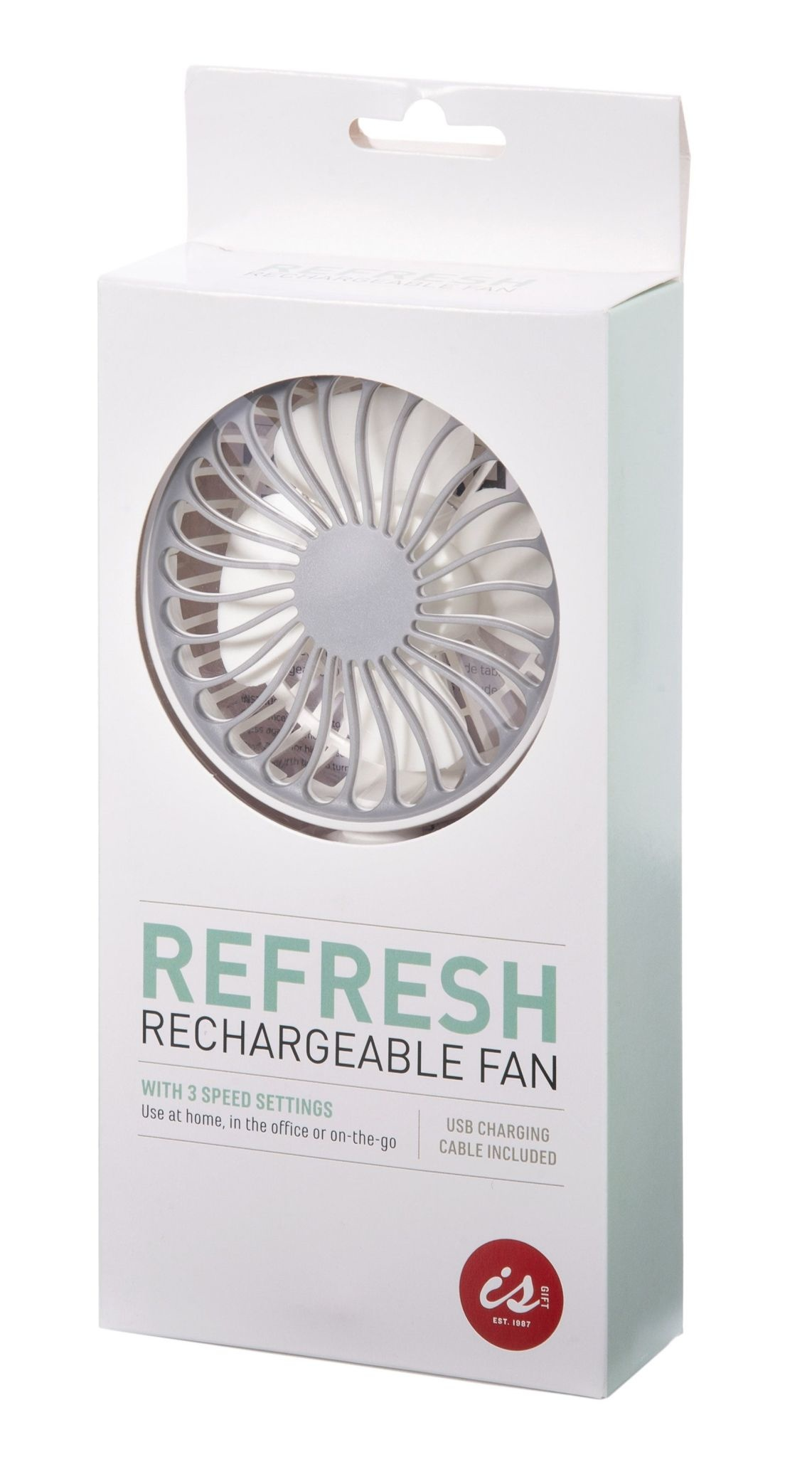 Albi Refresh Rechargeable Fan