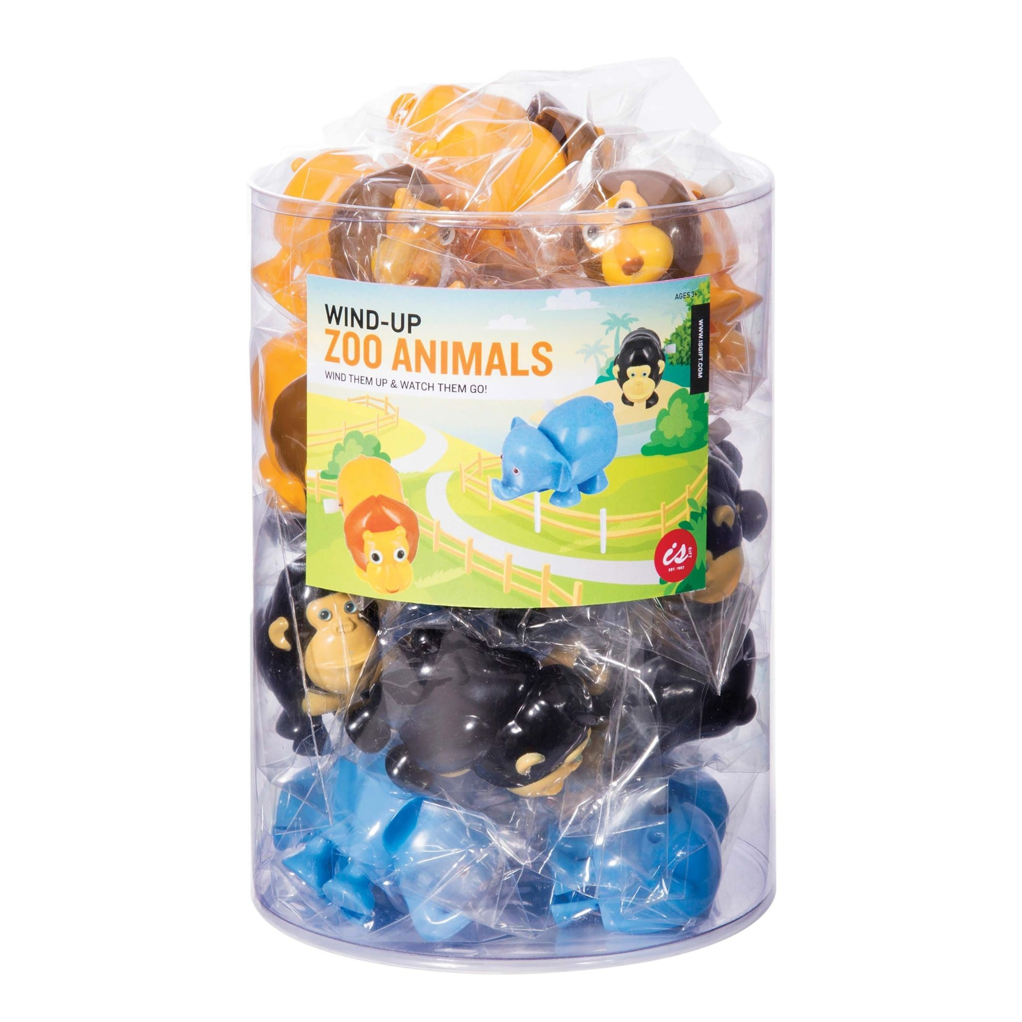 Albi Wind Up Zoo Animals