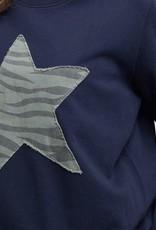 Elm Lucky Star Crew Navy