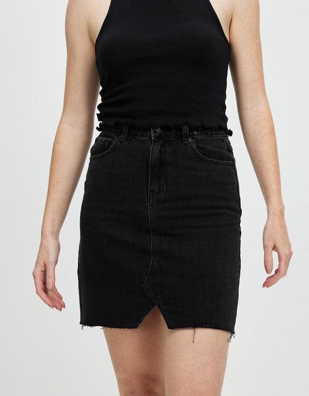 All About Eve Blair Split Skirt Black (K)