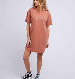All About Eve Essential Eve Tee Dress Peach (K)