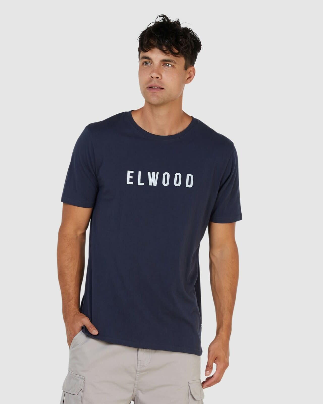 Elwood Logo Tee Navy