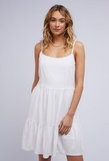 All About Eve Savannah Washed Dress White