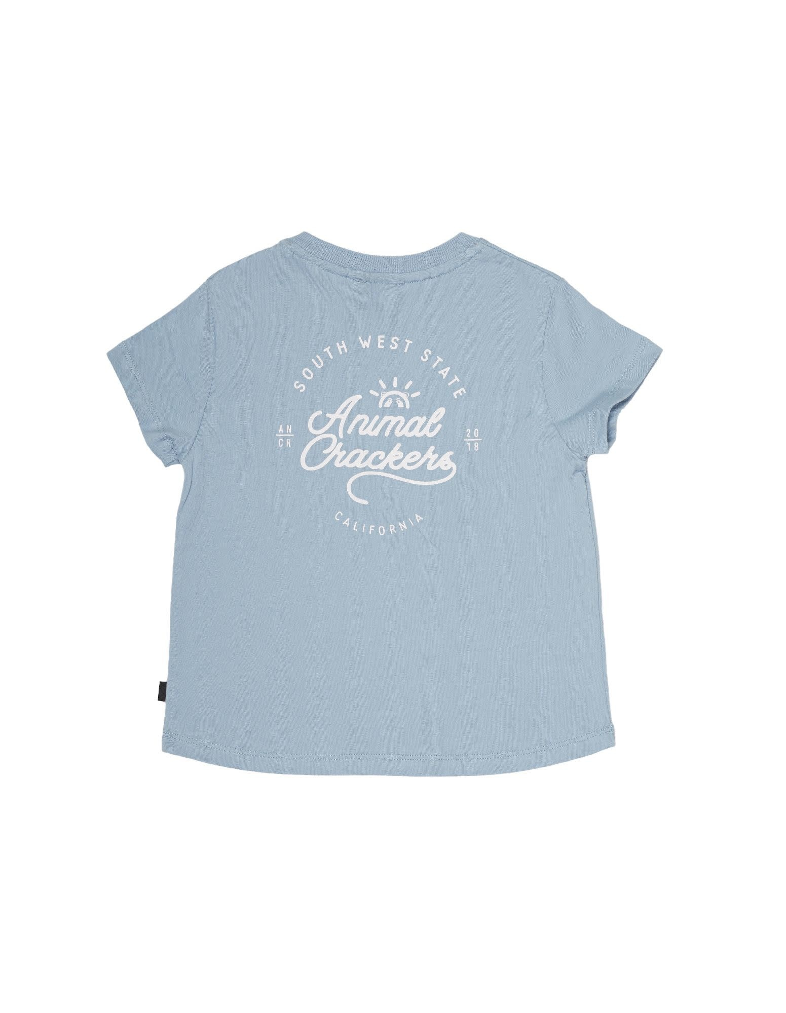 Animal Crackers South West Tee Blue