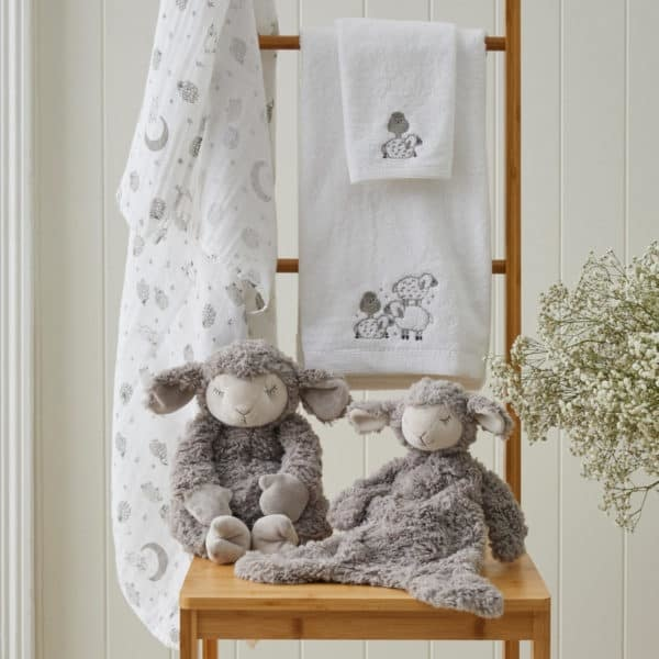 Sheep Bath Towel Washer Set