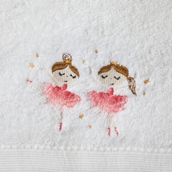 Pilbeam Living Ballerina Girls Towel Washer Set