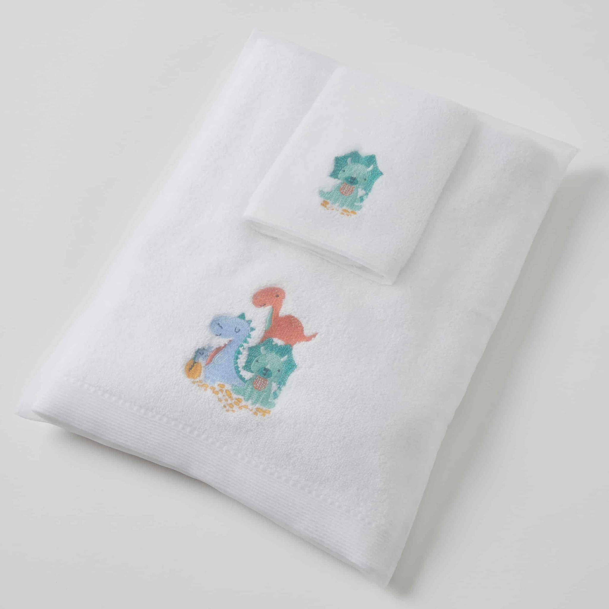 Pilbeam Living Dinosaur Family Towel Washer Set
