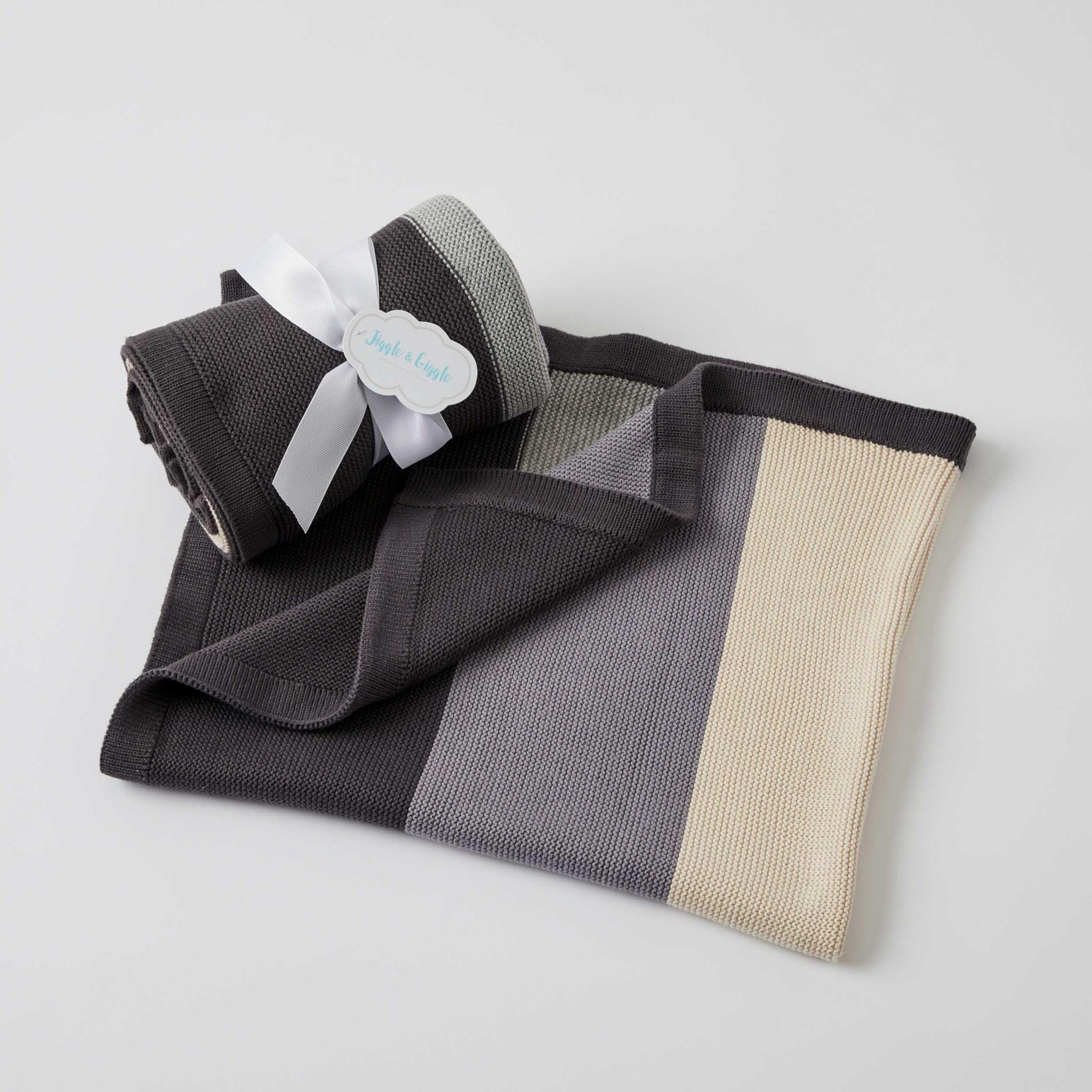 Pilbeam Living Block Stripe Blanket