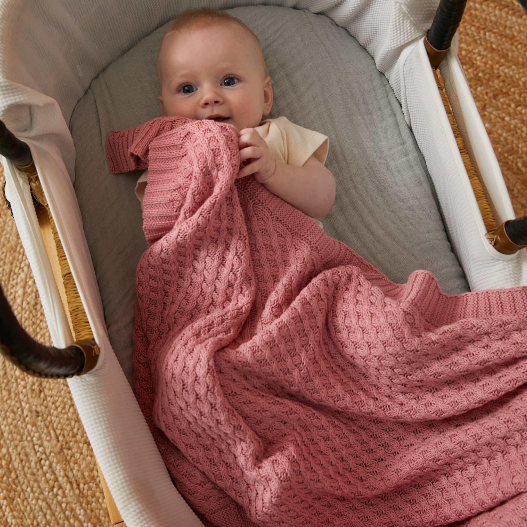 Pilbeam Living Blush Blanket Weave