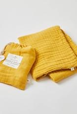 Pilbeam Living Double Muslin Blanket Honey
